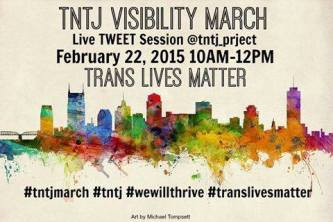 trans visibility march